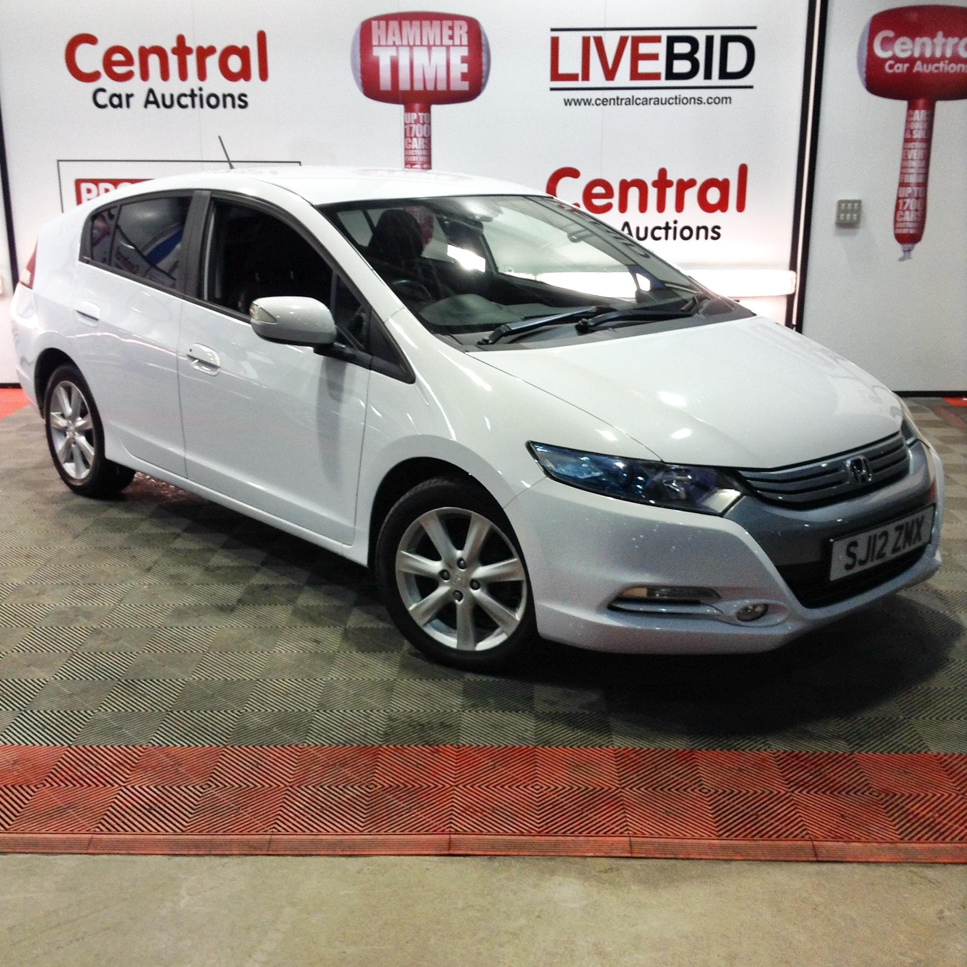 2012 Honda Insight Ex IMA Hybrid 1.4l • Central Car Auctions