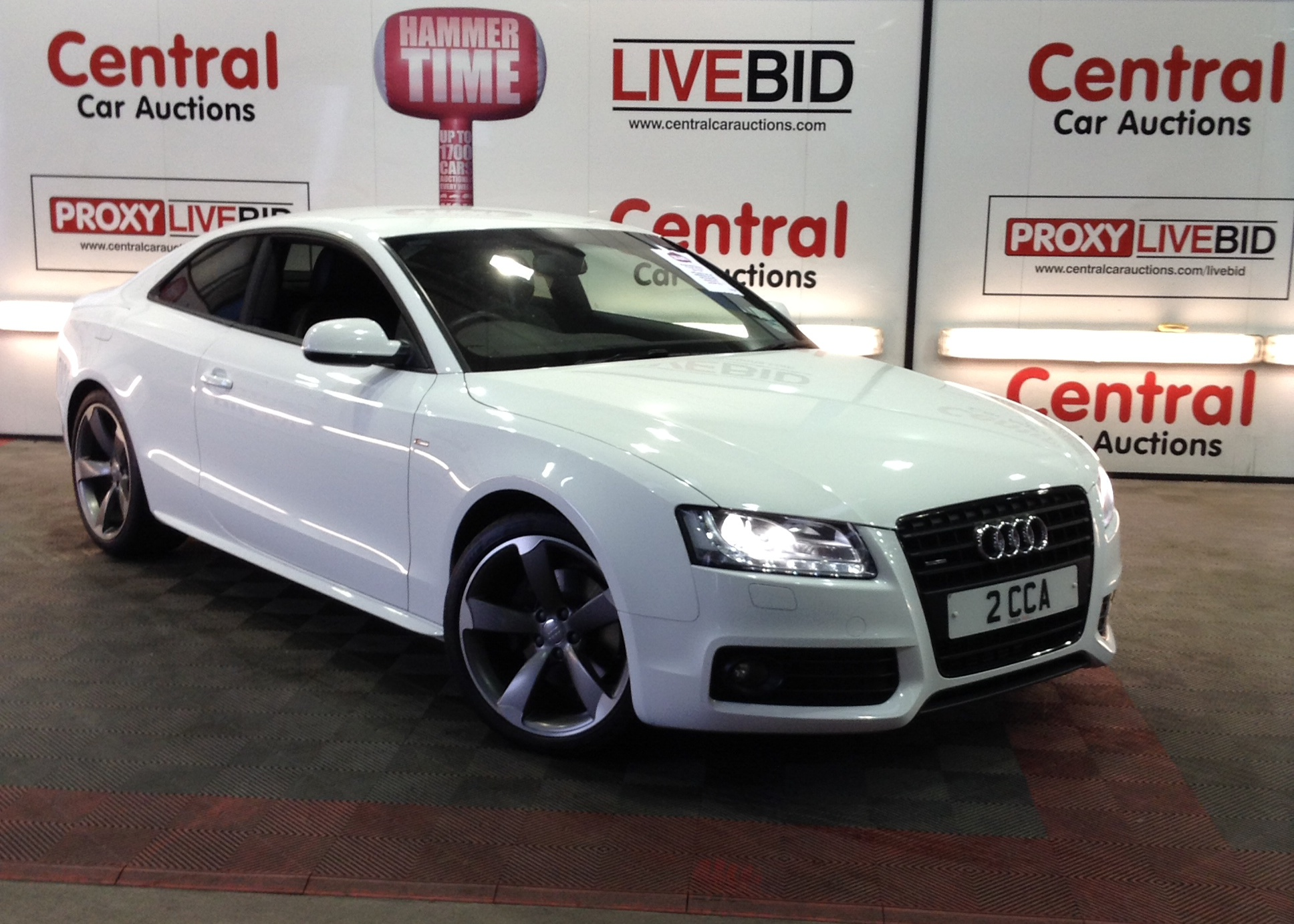 Audi A Coupe Tdi Quattro Central Car Auctions - Audi car auctions