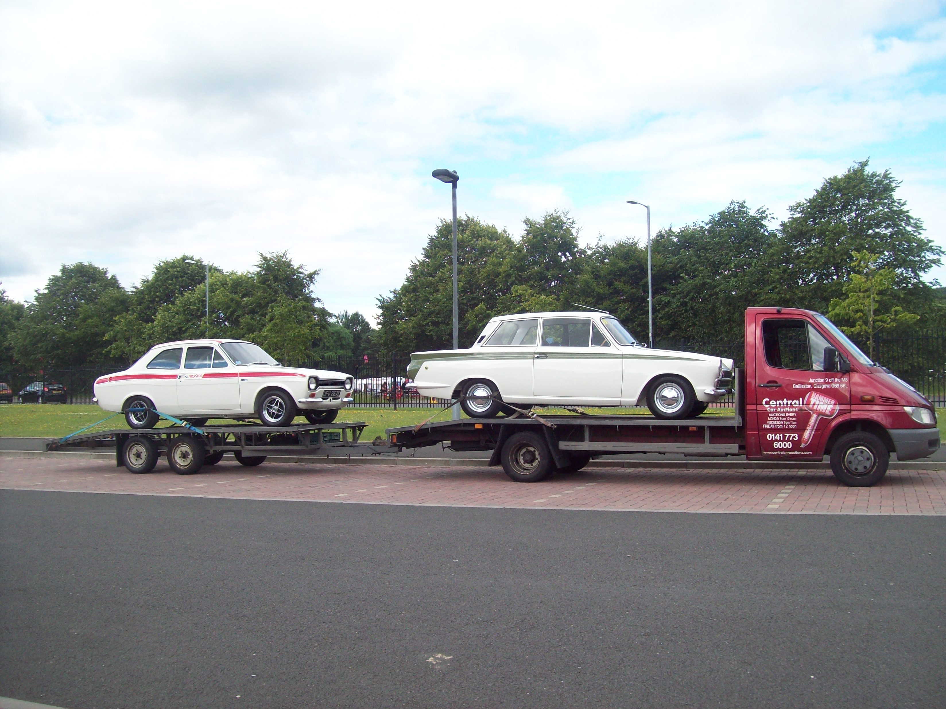 Mexico And Cortina Come To Moffat Central Car Auctions