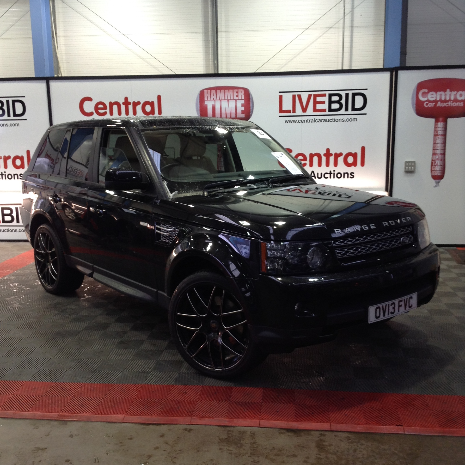 Find More 2009 Range Rover Sport Hse Automatic For Sale At: 2013 13 Plate Range Rover Sport HSE Black... • Central Car